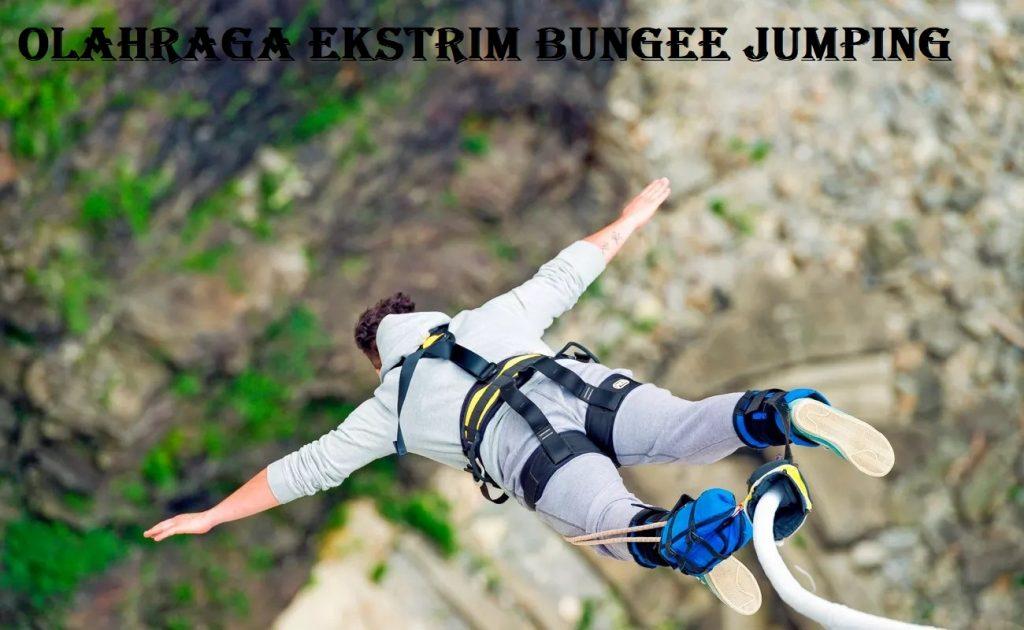 Salah Satu Olahraga Ekstrim Bungee Jumping