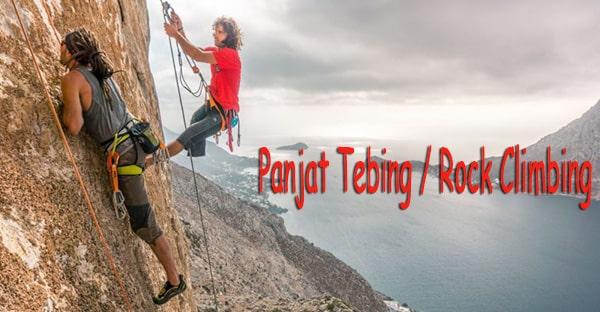 Mengenal Olahraga Panjat Tebing / Rock Climbing